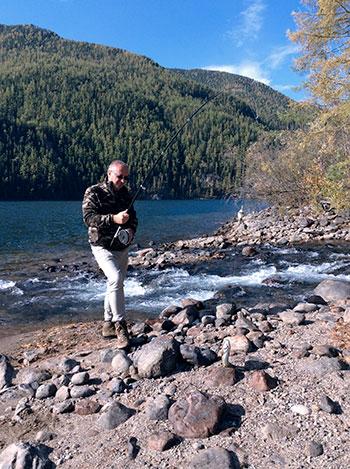 Tofalaria - Pesca - Russia Trekking