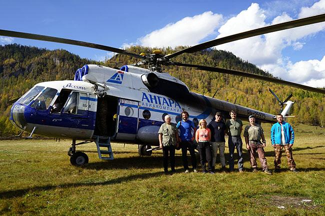 Tofalaria elicottero storico Mi-8 - Russia Trekking