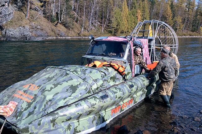 Tofalaria Idroscivolante Piranha - Russia Trekking