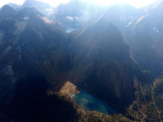 Tofalaria Le cascate Kinzelyuk - Russia Trekking